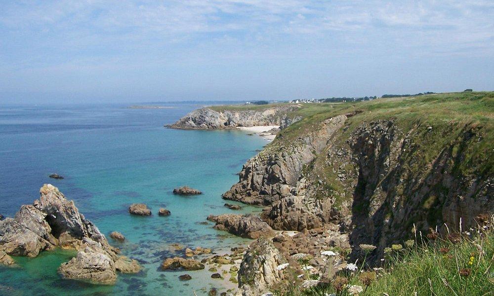 Sable fin et eau turquoise en Bretagne !