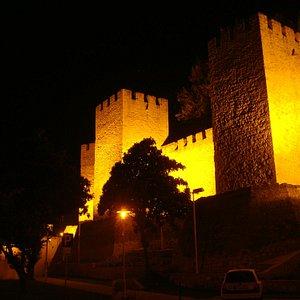 Castelo de Torres Novas de Noite