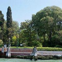 Vista do parque do Vaporetto