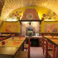 Sala ristorante - la Grotta