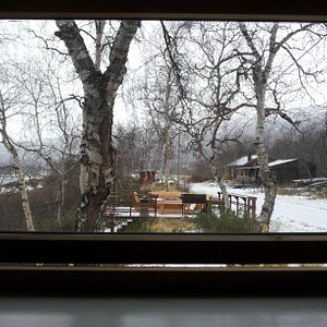 This is from the cabin that I stayed at- towards the Levasjok area of the Karasjok Municipality.