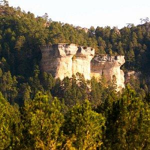 Preciosos paisajes de la  Serrania de Cuenca