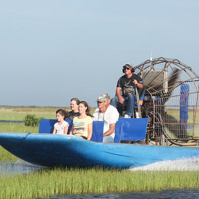 Everglades city airboat ride
