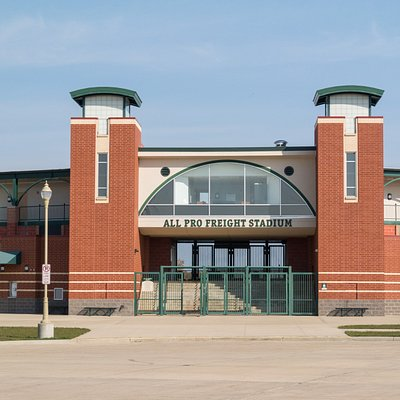 Entrance to All Pro Freight Stadium