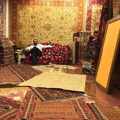 A large selection of beautiful rugs!