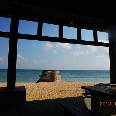 林投公園沙灘(攝於2013年10月29日)