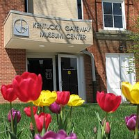 A beautiful Spring day at the Kentucky Gateway Museum Center