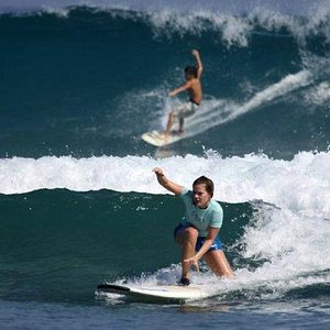 Come to the DR to learn to surf or to share some waves With professional local surf instructor