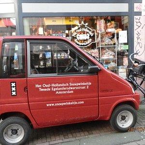 Candy shop company vehicle!