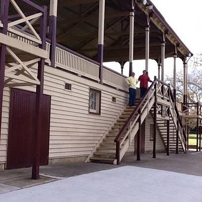grandstand at stawell oval