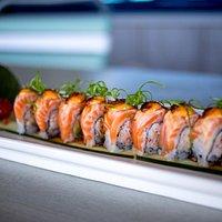 Sushi with a Splash