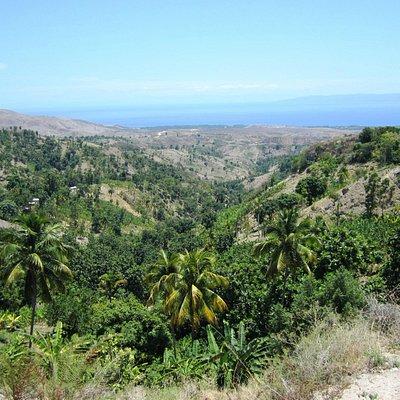Panorama sur l'Ile de la Gonave