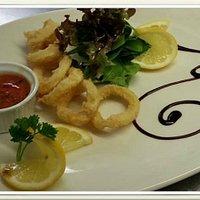 Calamari sardegna style
