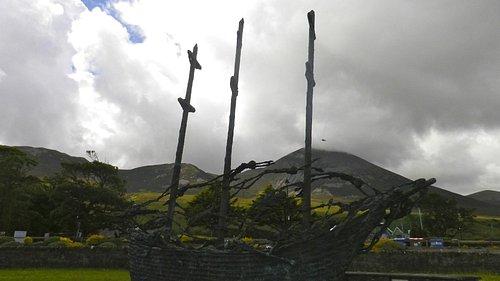 Coffin Ship Memorial Sculpture