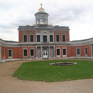The actual palace