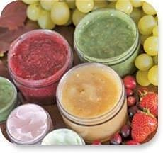 ilike Organic skin care. All fruits, herbs and vegetables.