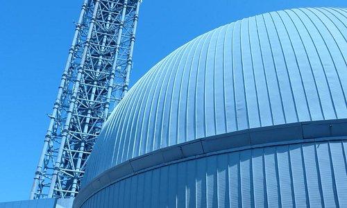 科学館とタワー