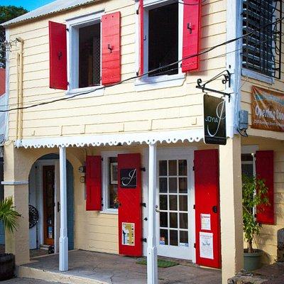 Joyia Inspirational Jewelry's front door entrance