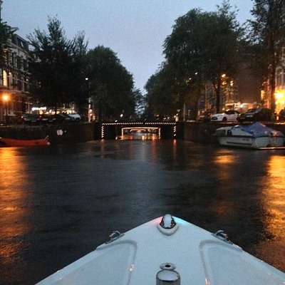 Leidsegracht by night
