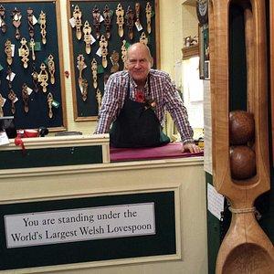 Welsh Love Spoon Gallery