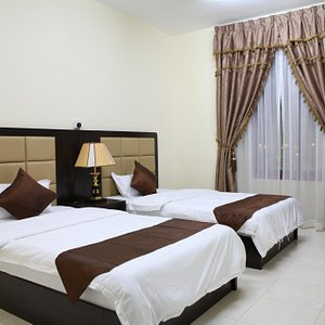 We have 35 fully furnished 2 bedroom apartments centrally located in the main street of fujairah