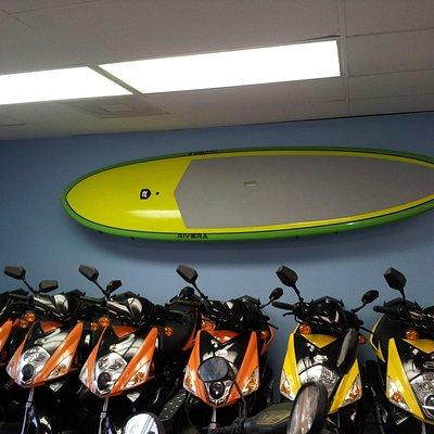 paddleboards