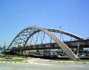 Ponte metalica em osasco