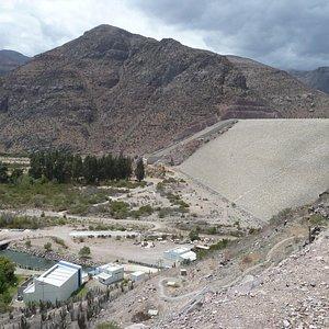 Der Staudamm