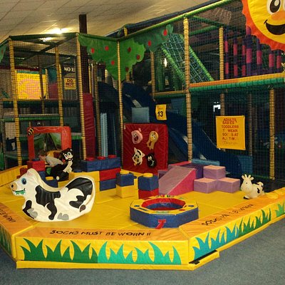 Baby area of our indoor soft play