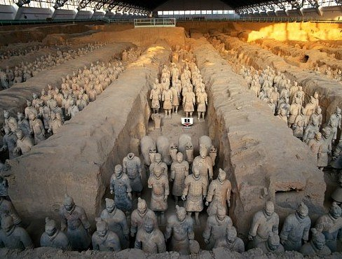 Pit 1 of Terracotta Warriors Museum