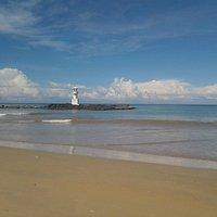 пляж днем