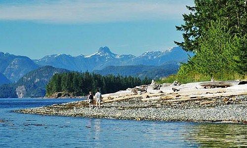 Rebecca Spit, Quadra Island, Discovery Islands, British Columbia