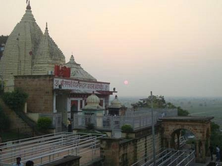 Sunset at Temple