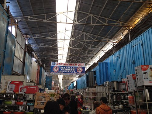 The biggest bazar. do not lost your way.