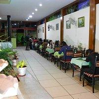 Caravan Family Restaurant dining hall.