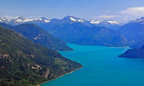 Spectacular scenery like Alaska in Bute Inlet, Discovery Islands, BC