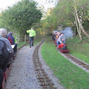 Playing Trains at LMMES Cinderbarrow