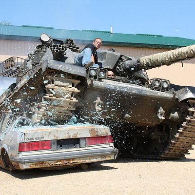 Drive A Tank - unlike anything else you've experienced!