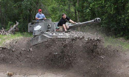Make a splash at Drive a Tank!