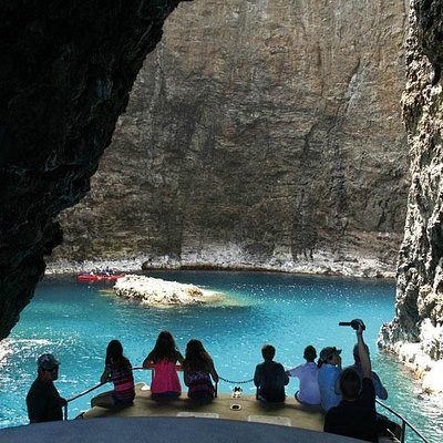 Napali Coast Kauai Open Ceiling Cave