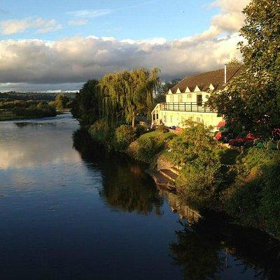 View from Glasbury Bridge