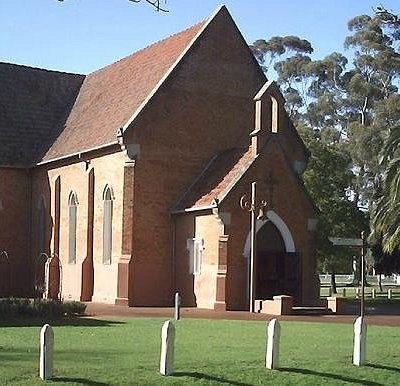 St Matthews Church in Stirling Square