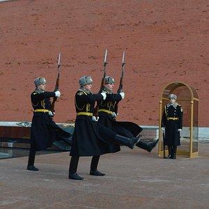 Cambio de Guardia en el Kremlin