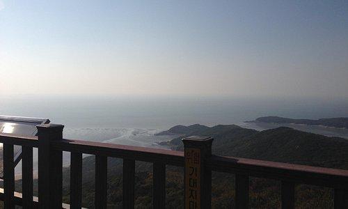 호룡곡산 정상에서 찍은 사진~