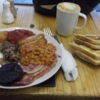 Great breakfast for £5.20 great valve