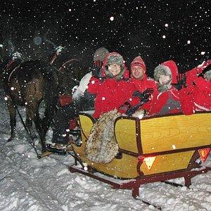 Sleigh ride in Zakopane
