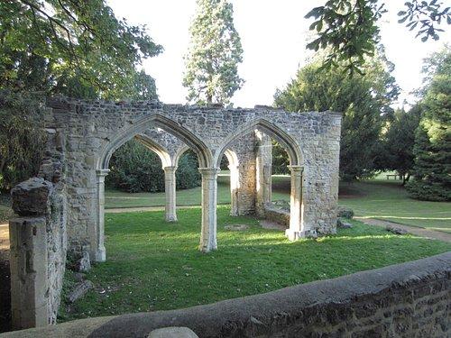 Все, что осталось от аббатства в Абингдоне