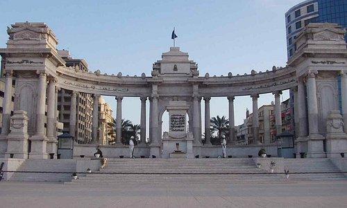 نصب الجندي المجهول بالاسكندرية