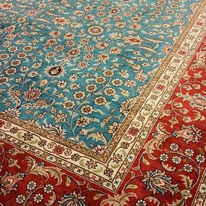A Marvellous Silk Rug