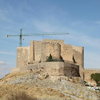 Castle seen from the windmills' hill